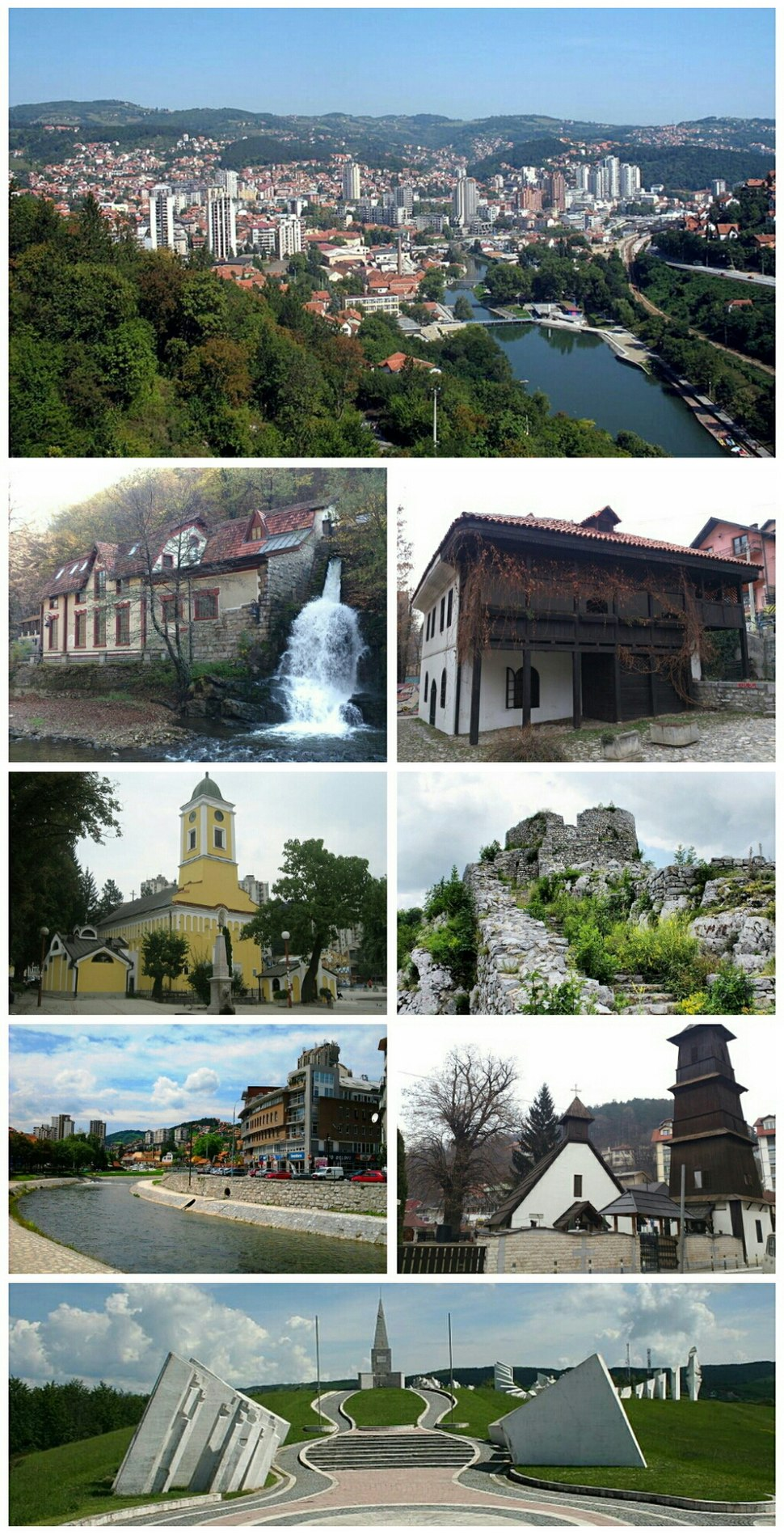 Užice- collage