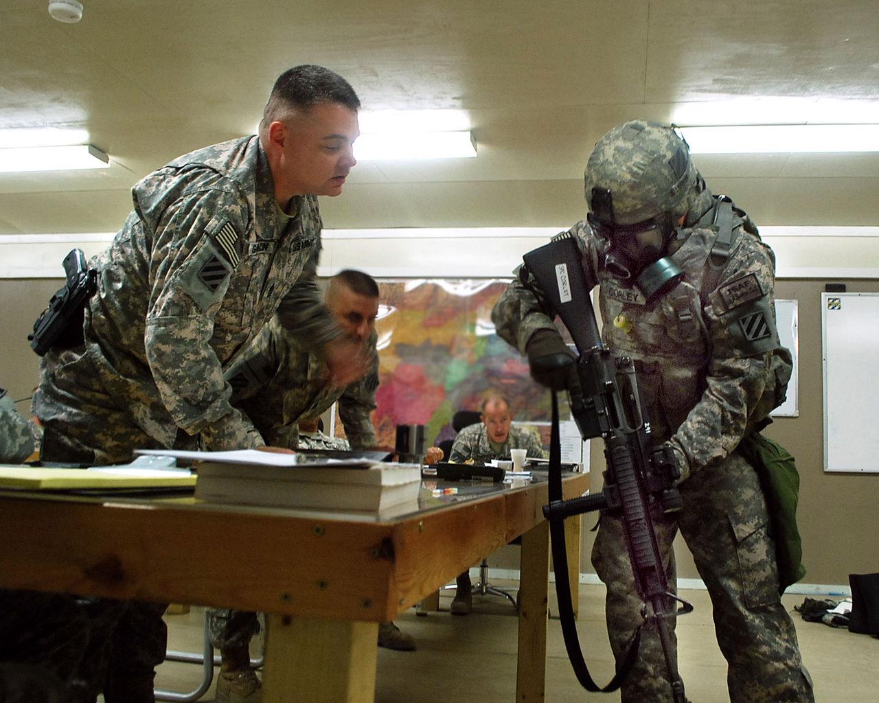 File:U.S. Army Spc. Jeremy Corley, right, with Bravo Company, 3rd ...
