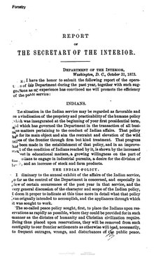 U.S. Department of the Interior Annual Report 1873.djvu