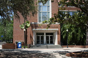 Matherly Hall - Image: UF Matherly Entrance