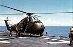 UH-34D of HMM-363 on USS Iwo Jima (LPH-2) c1966.jpg