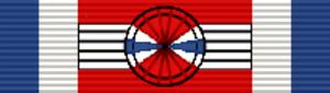 Orders, decorations, and medals of Uruguay - Image: URY Medalla al Mérito Militar Oficial
