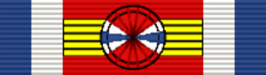 Medal of Military Merit (Uruguay) - Image: URY Medalla al Mérito Militar Oficial General