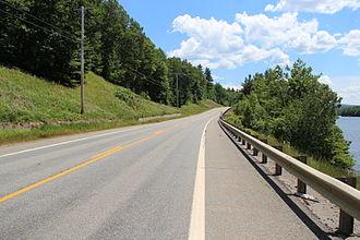 U.S. Route 201 - U.S. Route 201 near Bingham, Maine