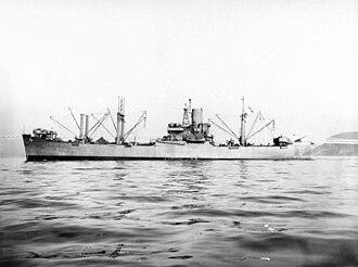 USS Aldebaran (AF-10) - Image: USS Aldebaran (AF 10)