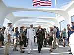 USS Arizona Reunion Association ceremony at the USS Arizona Memorial 141207-N-IU636-705.jpg
