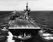 USS Boxer (CVA-21) underway off Korea in July 1953