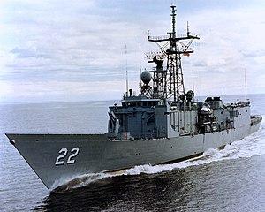 USS Fahrion FFG-22