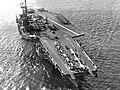USS Forrestal (CVA-59) at sea in 1957 (709972).jpg