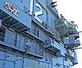 USS Hornet island ribbons.jpg