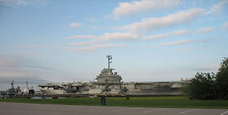 Patriots Point military museum in South Carolina, USA