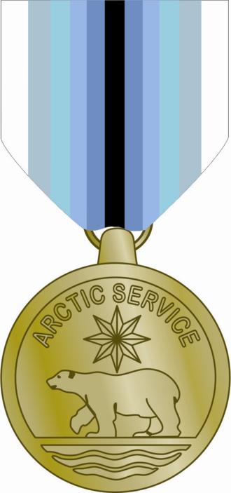 Coast Guard Arctic Service Medal - Coast Guard Arctic Service Medal