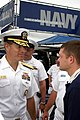 US Navy 031011-N-6270R-004 Adm. Jeff Fowler talks racing and recruiting with Casey Atwood.jpg