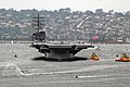 US Navy 040723-N-7878F-094 The Navy's newest and most technologically advanced aircraft carrier USS Ronald Reagan (CVN 76) enters San Diego harbor.jpg