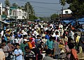 US Navy 050106-N-9951E-005 A busy crowd at a market place near Banda Aceh, Sumatra, Indonesia.jpg