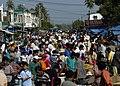 US Navy 050106-N-9951E-005 A busy crowd at a market place near Banda Aceh, Sumatra, Indonesia.jpg