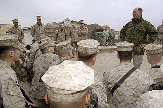 3rd Battalion, 7th Marines - Members of the battalion in Ramadi, Iraq in 2006