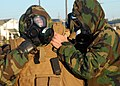 US Navy 081028-N-3857R-010 Seabees participate in a chemical, biological and radiological warfare drill.jpg