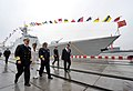 US Navy 090420-N-8273J-135 Chief of Naval Operations (CNO) Adm. Gary Roughead tours ships of China's People's Liberation Army Navy while visiting with senior PLA naval leadership in Qingdao, China.jpg
