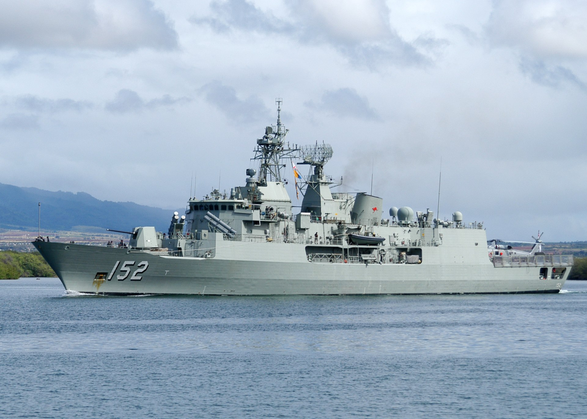 Anzac-class frigate - Wikipedia