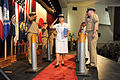 US Navy 100916-N-2858S-413 Honorary Chief Petty Officer Etsuko Nakamura is piped through side boys for the first time as a chief petty officer duri.jpg