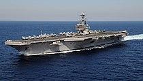 US Navy 110129-N-3885H-158 USS George H.W. Bush (CVN 77) is underway in the Atlantic Ocean.jpg