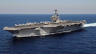 USS <i>George H.W. Bush</i> US Navy Nimitz-class aircraft carrier