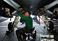 US Navy 110831-N-ED900-076 Aviation Structural Mechanic (Equipment) 2nd Class Brandon Peterson, from Addison, Mich.jpg