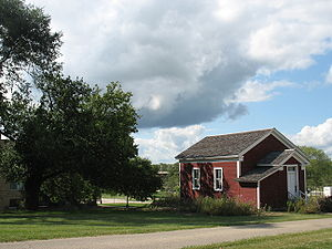 University of Wisconsin–Whitewater - Historic schoolhouse on UWW campus