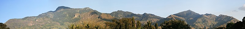 Uluguru Mountain Ranges Panorama.jpg