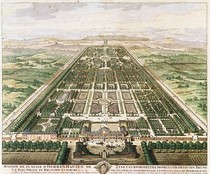 Ernest Augustus, Duke of York and Albany - Herrenhausen palace and gardens, Hanover