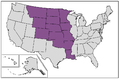 United States Louisiana Purchase states.png