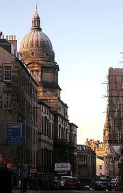 The University of Edinburgh's Robert Adam-designed Old College building, home of its Law School