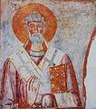 Unknown Bishop Fresco in Saint Nicholas Church in Melnik.jpg