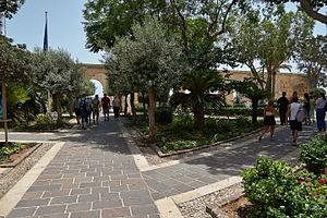 Upper Barrakka Gardens - View of the Upper Barrakka Gardens
