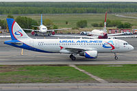 VQ-BLO - A320 - Ural Airlines
