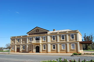 Urana Town in New South Wales, Australia