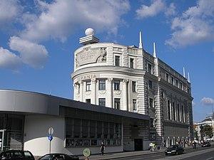 Urania, Vienna - Image: Urania Vienna June 2006 292