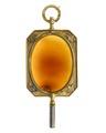 Urnyckel av sarder i ram av guld, 1813 - Hallwylska museet - 110385.tif