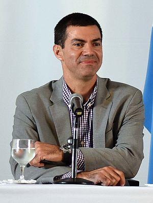 Governor of Salta Province - Image: Urtubey en Quinta de Olivos (cropped)