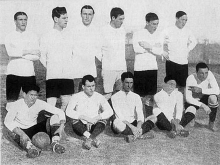 Uruguay, the first South American Champion Uruguay 1916.jpg