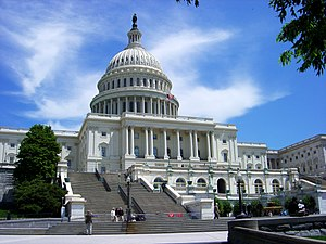English: United States Capitol in daylight
