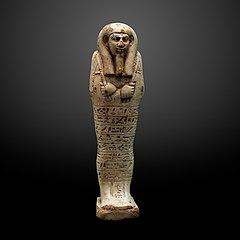 Ushebti figurine of Tchau-en-mi-MAHG D 0008
