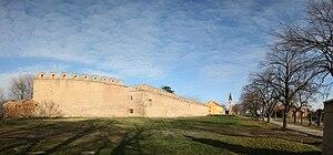 Ilok Castle - Walls of the castle