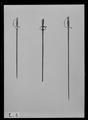 Värja. Fäste och klinga ej samhörande. Tyskand ca 1780-1800 - Livrustkammaren - 52151.tif
