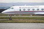 V-11 Gulfstream 4 Royal Netherlands Air Force (25603470723).jpg