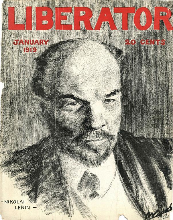 либератор Ленин. либератор Николай Ленин, 1919 г.