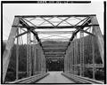 VIEW OF WEST PORTAL - North Carolina Route 1392 Bridge, Spanning Tuckaseegee River, Dillsboro, Jackson County, NC HAER NC,50-DILL.V,1-2.tif