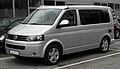 VW California Europe 2.0 TDI (T5, Facelift) – Frontansicht (1), 30. Juli 2011, Mettmann.jpg