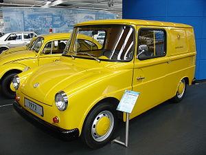Volkswagen Type 147 Kleinlieferwagen - 1972 Bundespost design